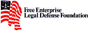 Free Enterprise Legal Defense Foundation letterhead design by Thomas and Joyce, Inc.